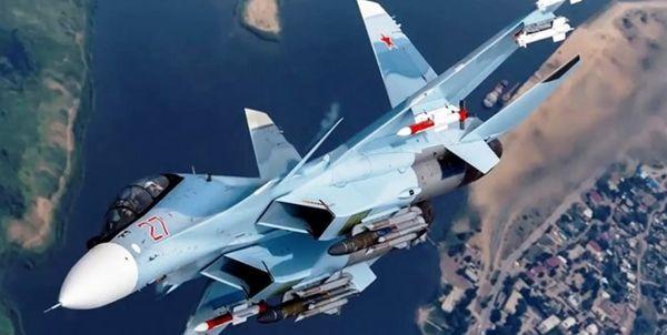 رزمایش هوایی روسیه بر فراز دریای سیاه