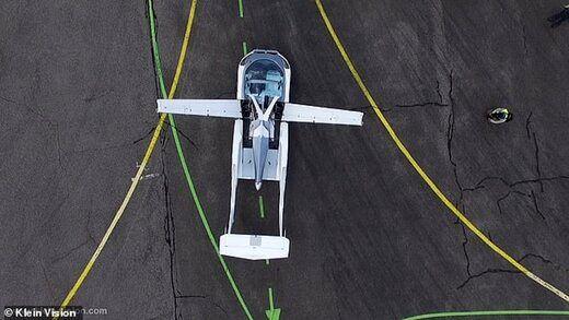 نخستین خودروی پرنده جهان + تصاویر