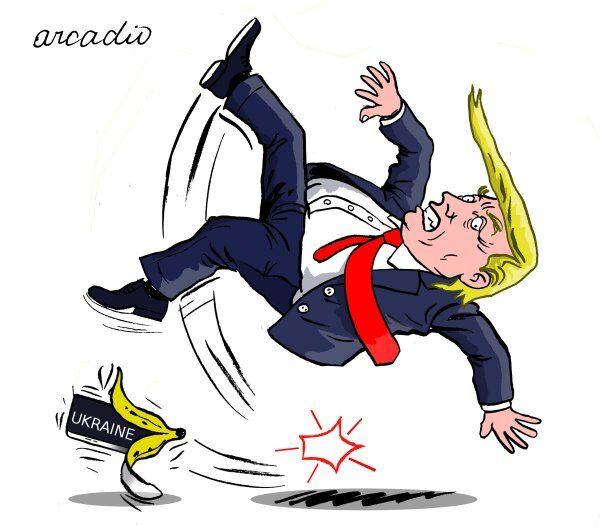 پوست موز استیضاح زیر پای ترامپ!