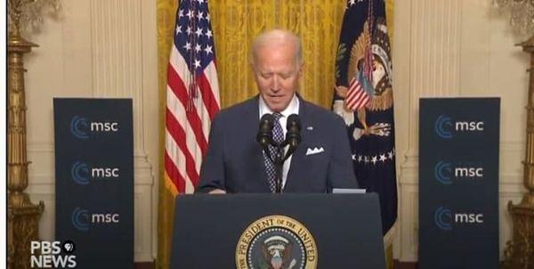 بایدن: آماده تعامل بر سر برنامه هستهای ایران هستیم