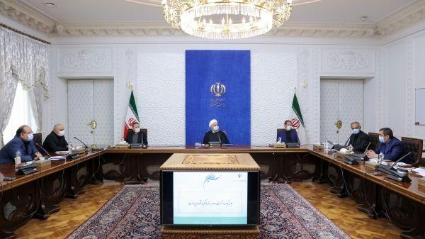 روحانی: اجازه نمیدهیم تکانههای اقتصادی آهنگ توسعه کشور را تحت تأثیر قرار دهد