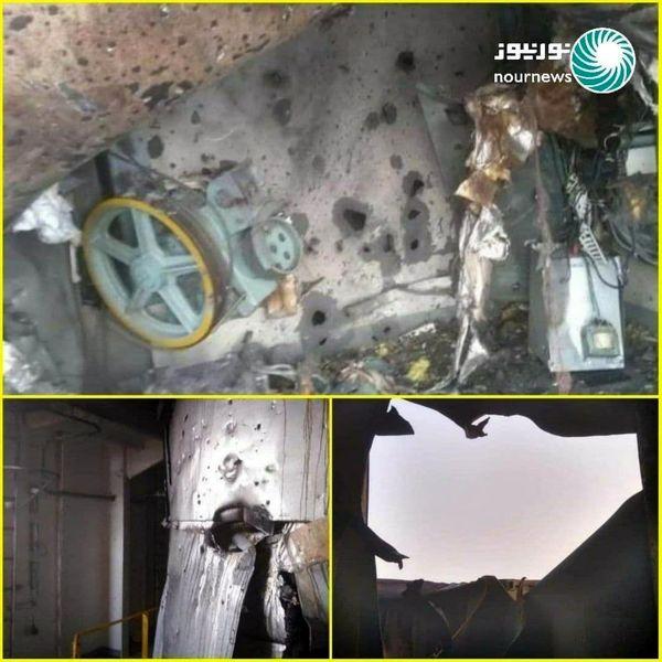 اولین تصاویر از حمله به کشتی رژیم صهیونیستی