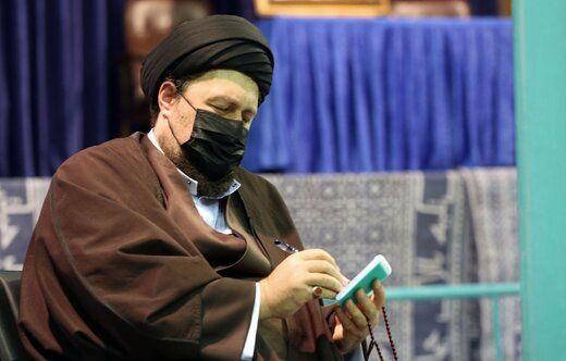 سید حسن خمینی پیروزی ابراهیم رئیسی را تبریک گفت