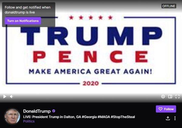 بازگشت دوباره دونالد ترامپ به توئیتر