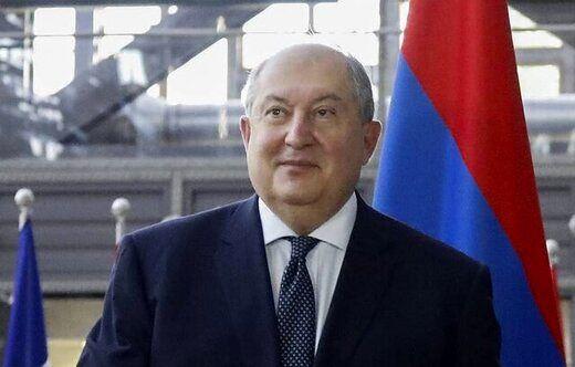 رئیس جمهوری ارمنستان: از مطبوعات در مورد شرایط خاتمه جنگ مطلع شدم