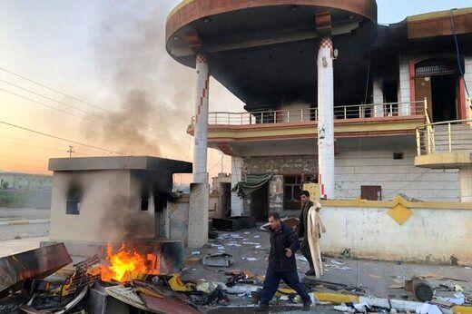افزایش شمار کشته های اعتراضات در سلیمانیه عراق
