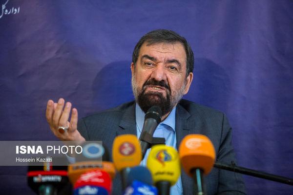 واکنش محسن رضایی به تحریف نظر رهبر انقلاب درباره رفع تحریمها
