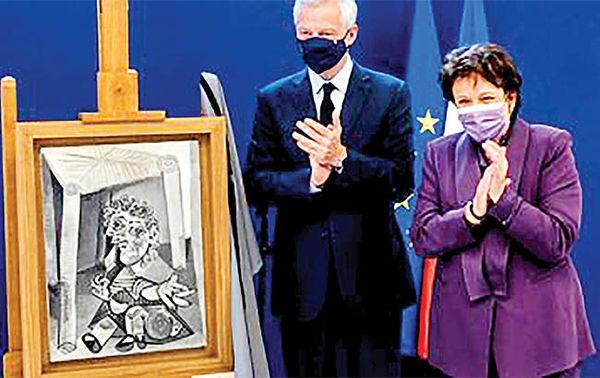 اهدای ۹ اثر پیکاسو  به جای مالیات