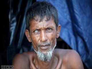 مسلمانان روهینگیایی در کمپ