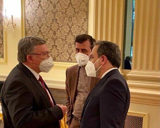 خبر اولیانوف از دیدارش با عراقچی و غریبآبادی پس از نشست کمیسیون مشترک برجام
