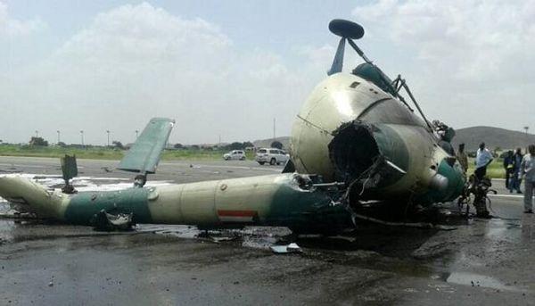 سقوط یک بالگرد نظامی سودانی در مرز با اتیوپی همزمان با تنش مرزی