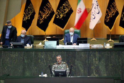 اظهارات مهم فرمانده کل ارتش از تریبون مجلس/ دشمن ناگزیر است ایرانی مستقل و قدرتمند را نظارهگر باشد
