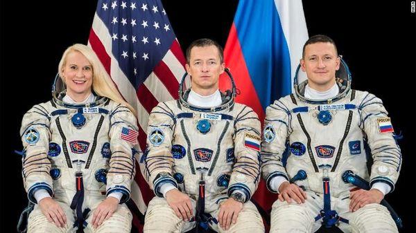 سه فضانورد راهی ایستگاه فضایی خواهند شد