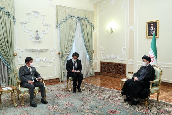 دیدار وزیر خارجه ژاپن با رئیس جمهور