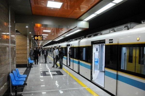 افزایش 10 درصدی مسافران مترو تهران