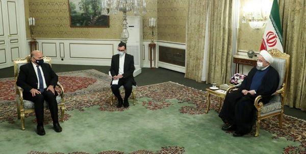 دیدار وزیر امور خارجه عراق با روحانی