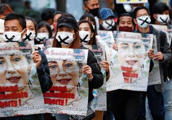 حمله به ۲ پایگاه هوایی میانمار