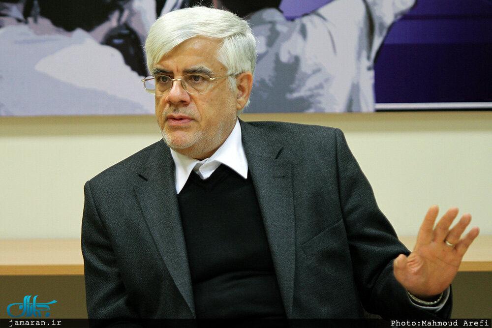 نامه عارف خطاب به مردم: برای آینده ایران رأی می دهم