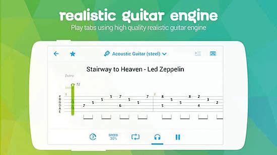 آکوردها و تبهای گیتار در Songsterr Guitar Tabs & Chords
