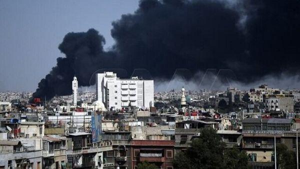 وقوع آتشسوزی عظیم در دمشق