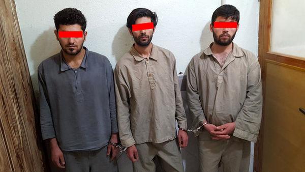 دستگیری زورگیران بزرگراه شهید خرازی