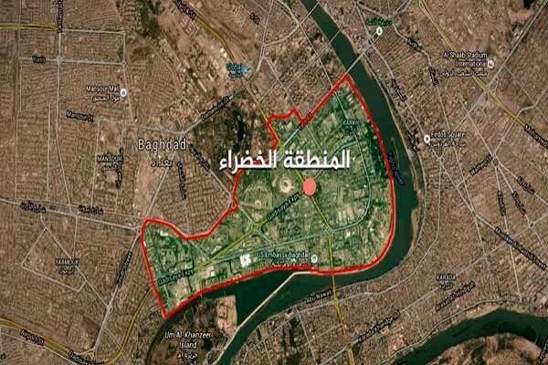 حملات راکتی در نزدیکی سفارت آمریکا در بغداد