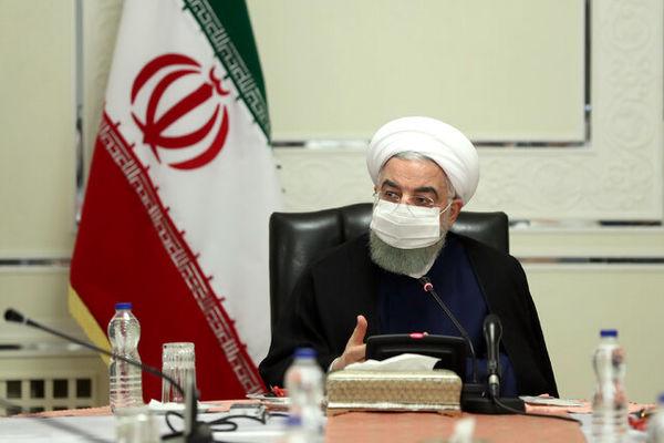تاکید رئیسجمهور بر برخورد با تخلف مقامها و دستگاههای رسمی از دستورالعملهای بهداشتی