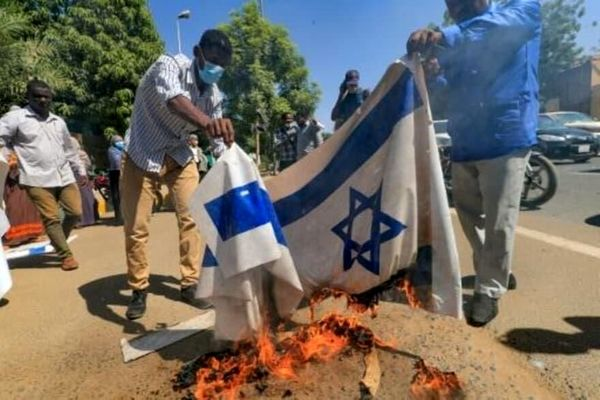 فشار آمریکا بر سودان برای امضای توافق روابط با اسرائیل