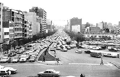 توقف شمیرانیها در میدان 25 شهریور
