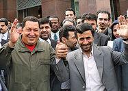 آرزوی موفقیت چاوز برای احمدینژاد