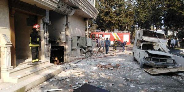انفجار گاز مادر و دختر بابلسری را راهی بیمارستان کرد+عکس