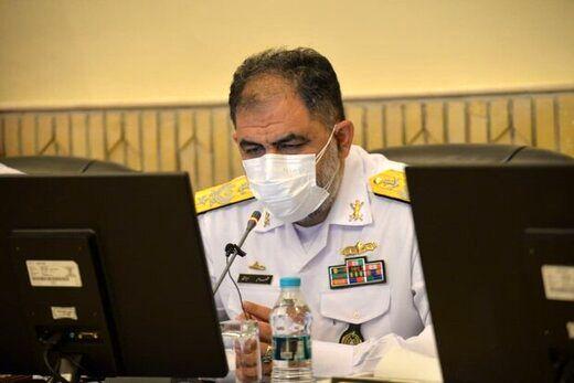 دریادار شهرام ایرانی: نیروی دریایی مورد حمایت مجلس قرار گیرد