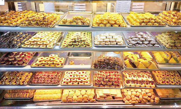 رشد فروش شیرینی و شکلات