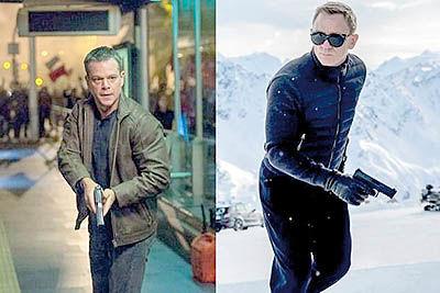 مت دیمون، جیمز باند را کوبید
