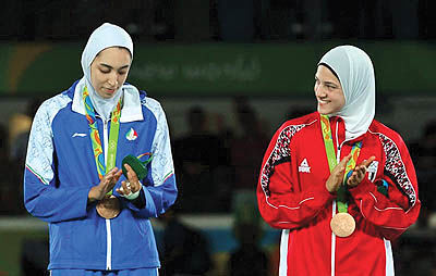 نخستین مدال بانوان ایران در تاریخ المپیک