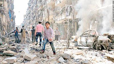 کلاف پیچیده حلب
