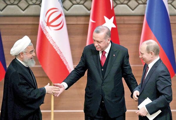 ریشه چرخش ترکیه به سمت ایران و روسیه