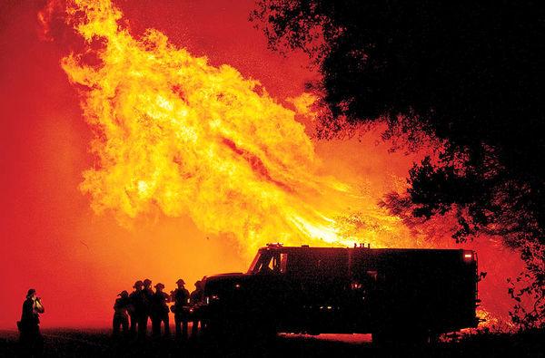 آتشسوزی بیسابقه در غرب آمریکا