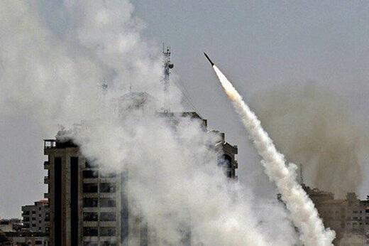 پدافند هوایی سوریه ۷ موشک اسرائیل را ساقط کرد