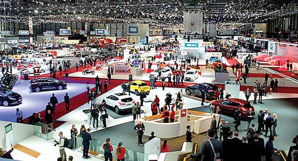 دو روز تا نمایشگاه خودروی ژنو