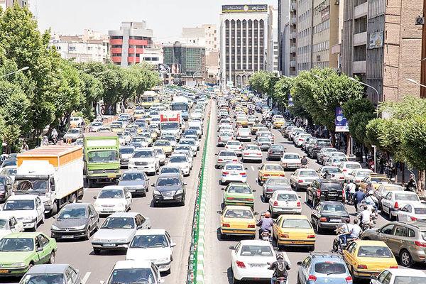 پدیده ابرترافیک در قلب تهران