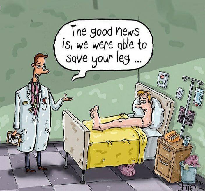 ببینید: پزشکان توانستند پای این بیمار رو حفظ کنند!