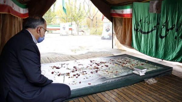 زاکانی در مرقد امام (ره) و مزار شهدا+عکس