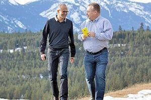اخراج مدیرعامل اسبق نوکیا از مایکروسافت