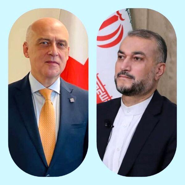 پیام وزیر خارجه گرجستان به امیرعبداللهیان