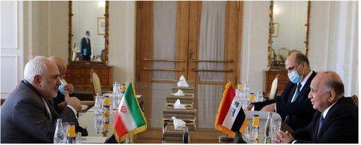 توئیت ظریف پس از دیدار با همتای عراقی