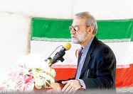 بازدید رئیس مجلس از پروژه آزادراه تهران- شمال