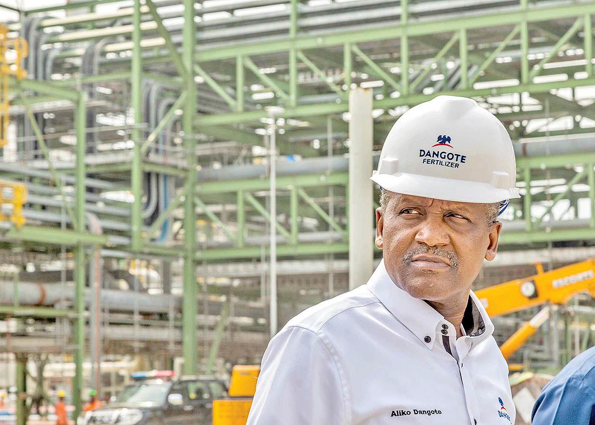 الیکو دانگوت، میلیاردر و بازرگان نیجریهای