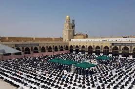 برگزاری اولین نماز جمعه پس از 4 ماه در مسجد کوفه