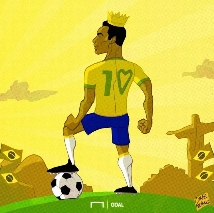 پادشاه فوتبال جهان رو ببینید!